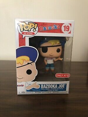 Funko POP! Ad Icons - Target Exclusive Bazooka Joe #19 W/Protector