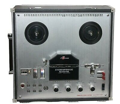 Sanyo  Stereophonic  Reel to Reel MR-929 Player- works well with speakers