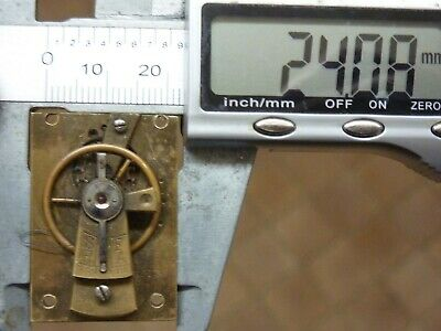 Old French Clock ?  Platform Escapement--Spares Or Repair (K) Free Post