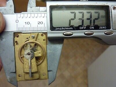 Old French Clock ?  Platform Escapement--Spares Or Repair (Z1) Free Post