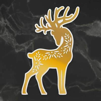 Couture Creations Cut Foil and Emboss Die Naughty or Nice Donner Deer (1pc)