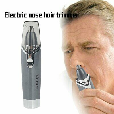 KM-6512 Electric Nose Trimmer Beauty Nose Ear Hair Trimmer Removal Shaver GN