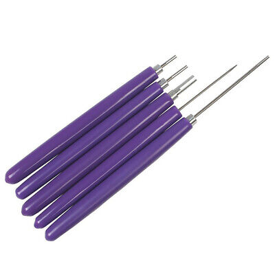 5Pcs Manual Practical Slotted Structure Rolling DIY Origami Quilling Paper Pen