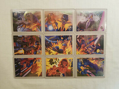 X-MEN 1994 FLEER ULTRA Limited Edition Subset Team Portrait 1 2 3 4 5 6 7 8 9