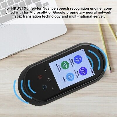 T8 2.4inch Smart Translator HD For HKUSTXunfei/Nuance Speech Recognition Engine