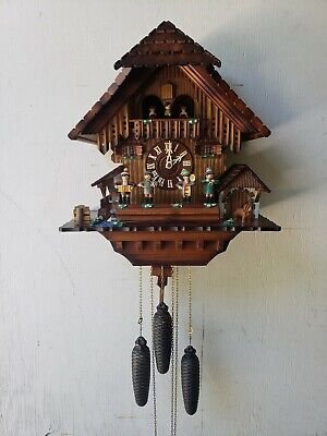 Beautiful Vintage Musical Cuckoo Clock