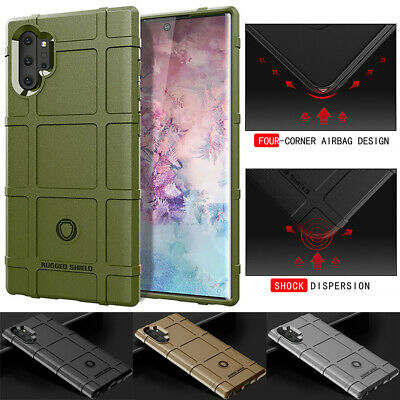 For Samsung Galaxy Note10 Slim Shockproof Rubber Rugged Silicone Back Case Cover