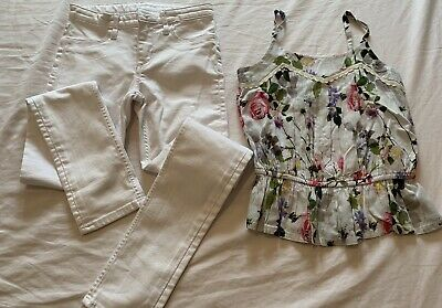 Girls Jeans And Top Set Age 8 Years