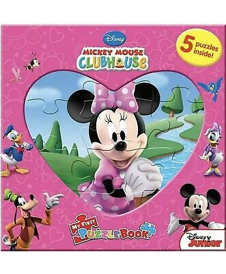 Minnie Mouse Puzzle Book 5 Puzzles Inside