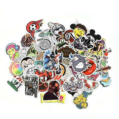 Lots100Pcs Random Bomb Vinyl Laptop Skateboard Stickers Luggage Decals Sticker