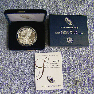 2019-S American Eagle Proof Silver Dollar