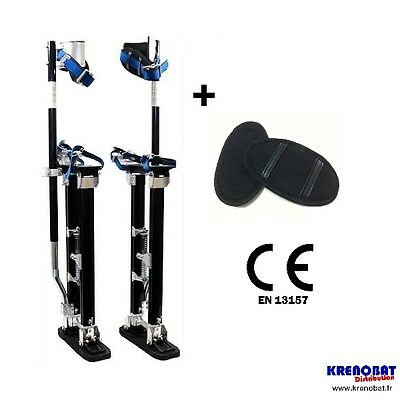 H1830M: Stilts 45 to 76 cm Magnesium, Matte pro New