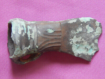 Bronze Age,Piliny culture , Bronze Axe with Ornament ,  12-9 CBC