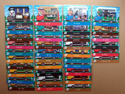 x36 Animal Crossing New Leaf Welcome Amiibo Cards Set Lot No Duplicate Japanese