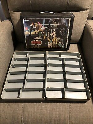 Vintage Kenner Star Wars The Empire Strikes Back Action Figure Collector's Case