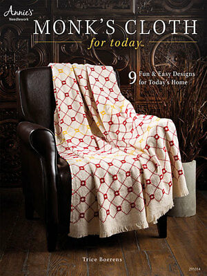 Monk's Cloth for Today Needlework Swedish Huck Embroidery Book Trice Boerens NEW