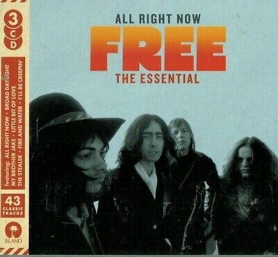 FREE - All right now / The Essential ( 2018 3Cd set / Brand new & sealed)