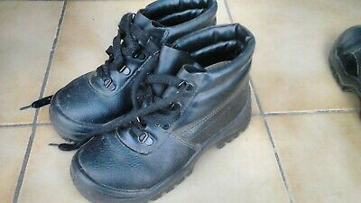 EUR CHAUSSURES 35 SECURITE femme Taille Occasion MONTANTES 0m8nwN