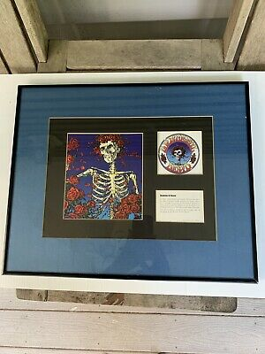 Grateful Dead limited edition numbered print Mouse Kelley 1997 Skull and Roses