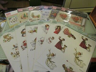 Bundle Decoupage & Toppers Anita's & Hobby House – 12 Sheets