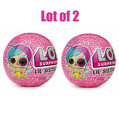 LOL Surprise Lil Sisters EYE SPY Wave 2 Series 4 Doll (Lot of 2)