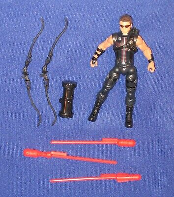 "Hawkeye 4"" Action Figure Avengers Loose 2012 Marvel Movie Cinematic Universe"