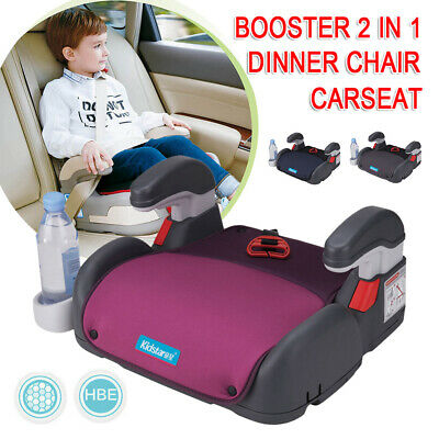Car Booster Seat Chair Cushion Pad For Toddler Child Kids Sturdy 3Color AU SHIP