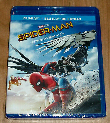 Spider-Man Homecoming Blu-Ray + Br. Extras Neuf Scellé Action (sans Ouvrir) R2