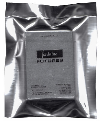 Fontaine Futures Blind Pack Mystery Playing Cards 1/6 Random Deck *IN HAND SHIP*