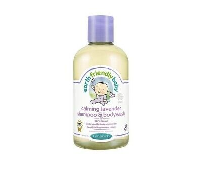 Earth Friendly Baby Lavender Shampoo and Body Wash 250ml Brand New