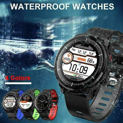 Sport Anti-lost Impermeabile Bluetooth Smartwatch Orologio Android   IOS Samsung