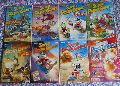 lot super picsou géant + magazines picsou, mickey