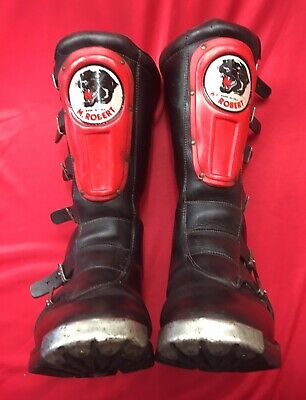 Vintage M. Robert Trials Boots, Motocross Vmx Mx Enduro, Iconic Made Italy