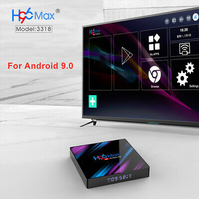 H96 Max RK3318 4+64GB HD 4K WiFi Set-Top TV Box Media Player for Android 9.0 Pro