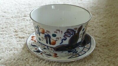 Unique Vintage James Kent - Fenton - hand painted bowl and matching plate