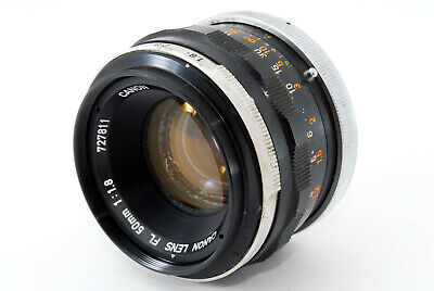 【EXC+】Canon FL 50mm f/1.8 Manual Focus Standard Prime Lens From Japan #1148