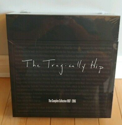 The Tragically Hip Vinyl Complete Collection 1987-2016 (Brand new, sealed!)