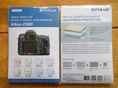 Optical Glass Lcd Screen Protector For Nikon D500