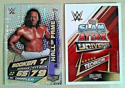 Wwe Slam Attax Universe 2019 Hall Of Fame Cards # 302-317 - Add To Basket