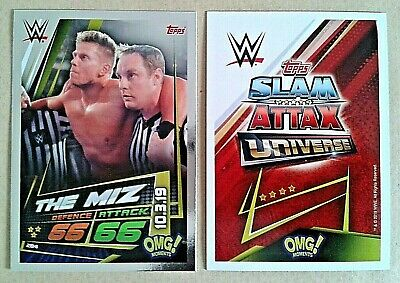 Wwe Slam Attax Universe 2019 Omg Moments! Cards # 270-301 - Add To Basket