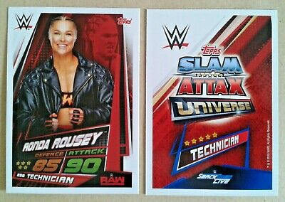 Wwe Slam Attax Universe 2019 Stars Of The Show Cards # 254-269 - Add To Basket