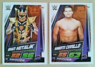 Wwe Slam Attax Universe 2019 205 Live Cards # 146-160 - Add To Basket