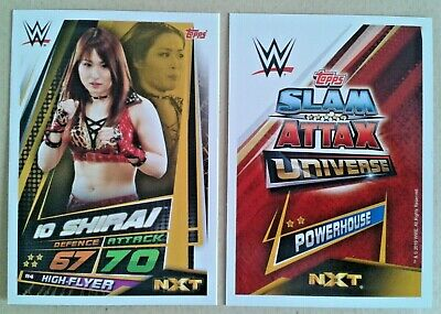 Wwe Slam Attax Universe 2019 Nxt Cards # 104-145 - Add To Basket