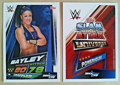 Wwe Slam Attax Universe 2019 Smackdown Live Cards # 59-103 - Add To Basket