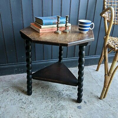 Antique Bobbin Leg Table