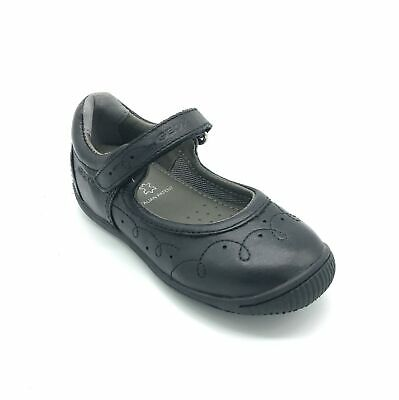 Geox Junior Gioia 2Fit Girl's School Shoes Black Leather 40% OFF RRP