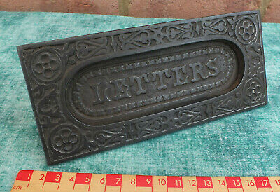 Reclaimed Victorian ~ Cast Iron Letterbox