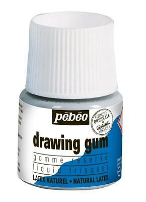 PEBEO 38625 Gomme réserve drawing gum pelliculable 45ml Couleur Assorties