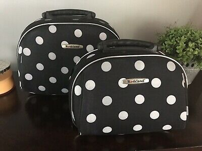 Rockland Luggage 2 Piece Cosmetic Set