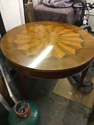 Beautiful Inlaid Rosewood Dining table